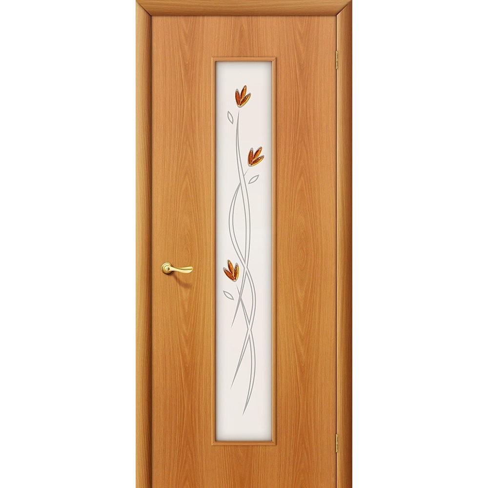 Межкомнатная дверь 22Х Л-12 (МиланОрех)/Фьюзинг
