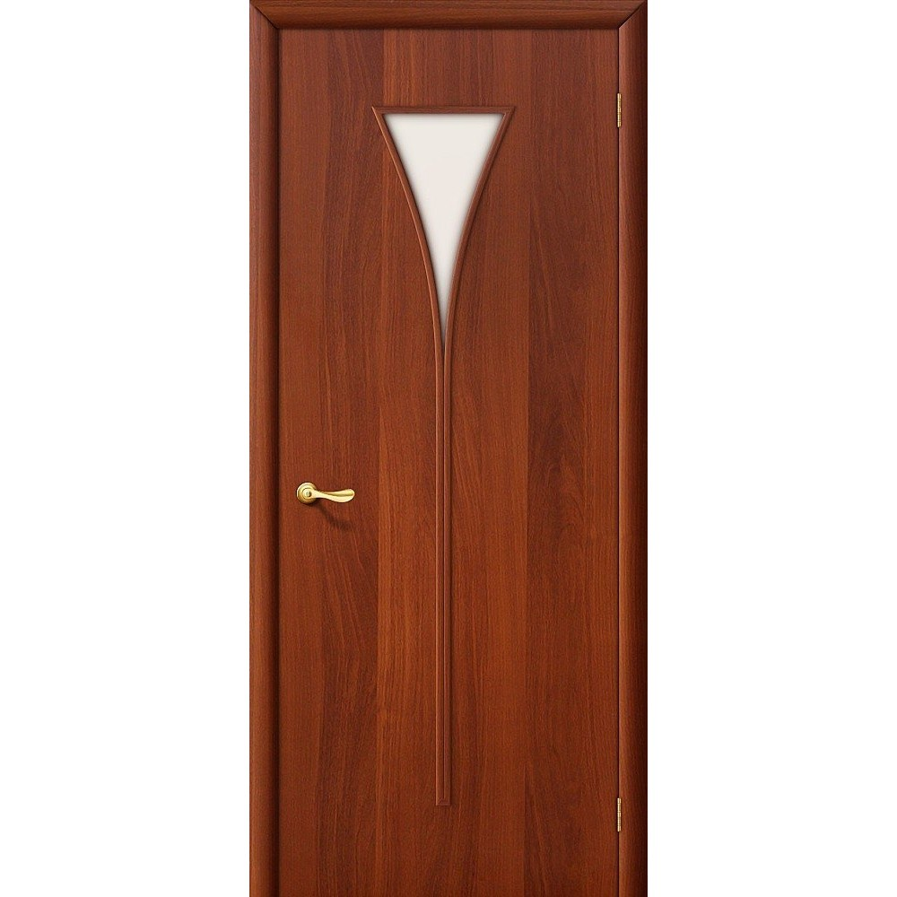 Межкомнатная дверь 3С Л-11 (ИталОрех)/Сатинато