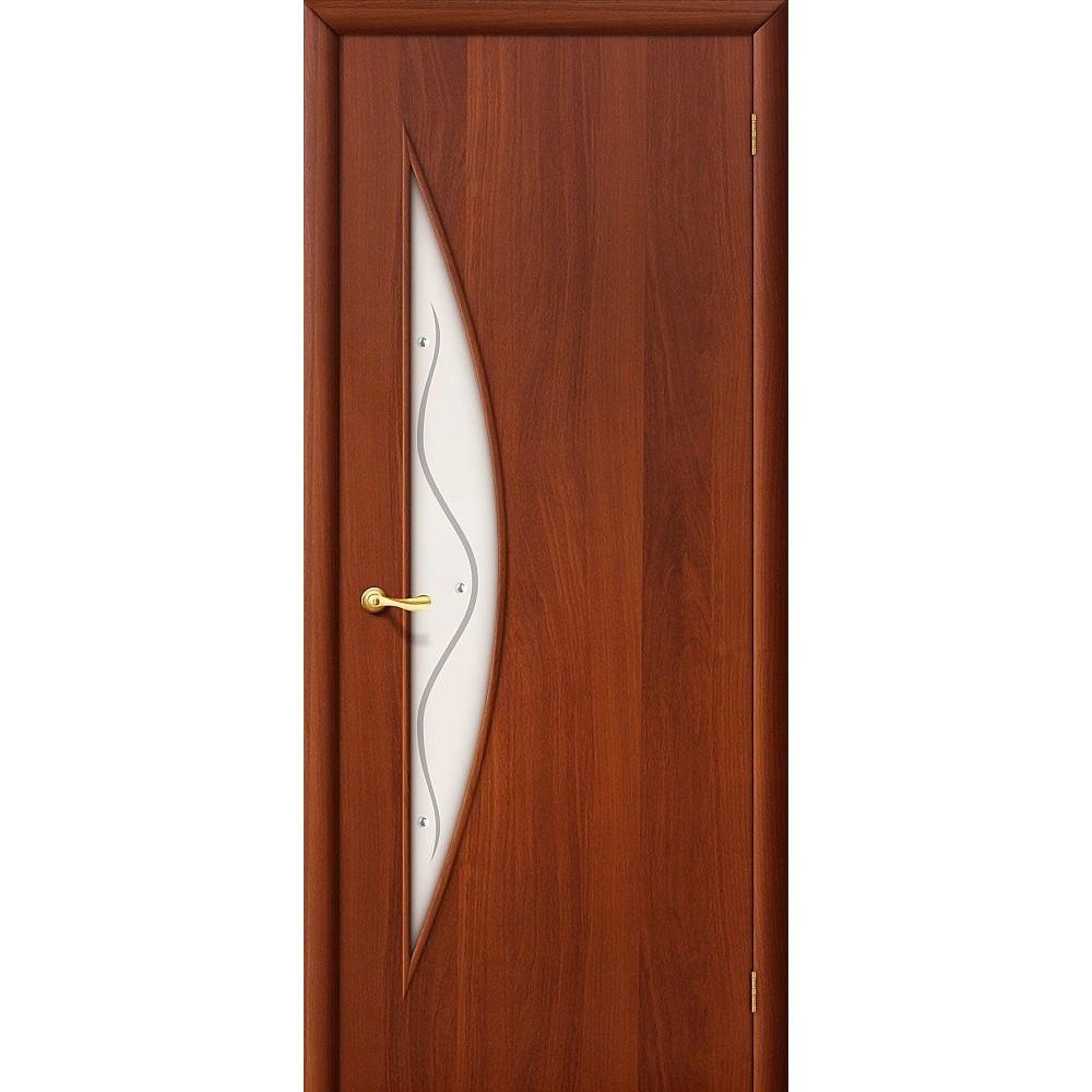 Межкомнатная дверь 5Ф Л-11 (ИталОрех)/Фьюзинг