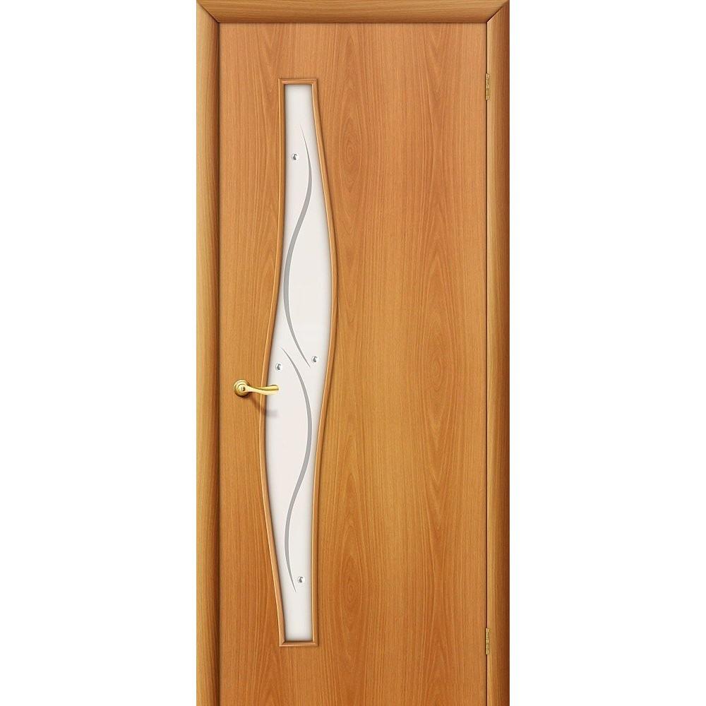 Межкомнатная дверь 6Ф Л-11 (ИталОрех)/Сатинато