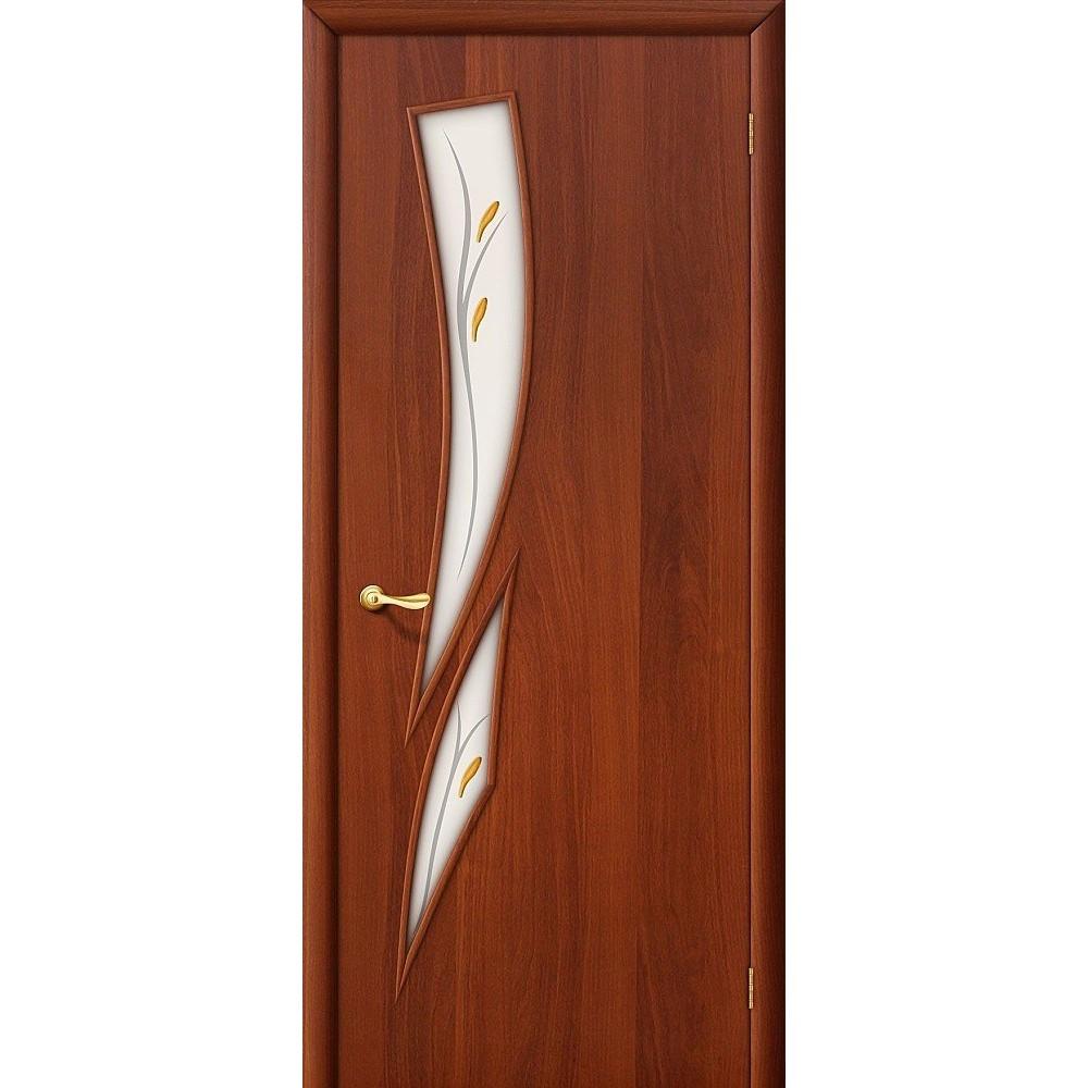 Межкомнатная дверь 8Ф Л-11 (ИталОрех)/Фьюзинг