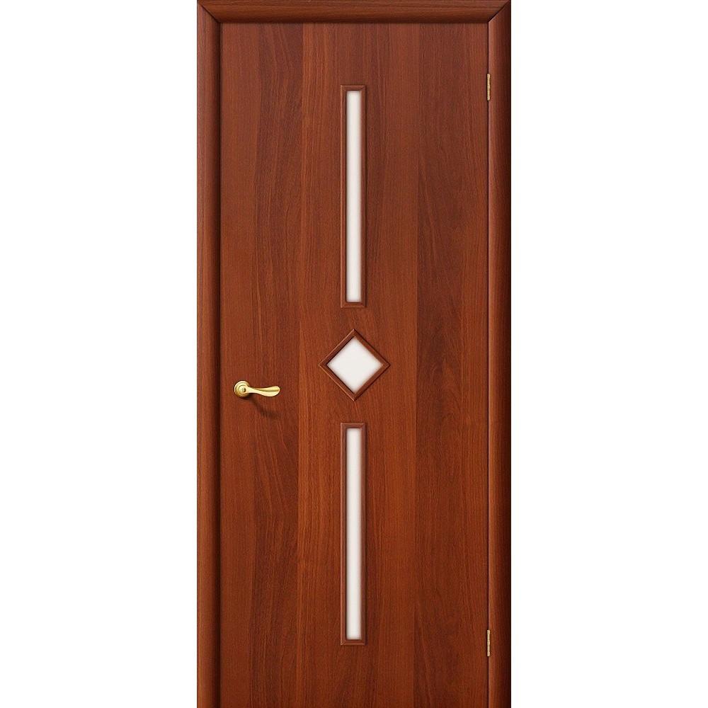 Межкомнатная дверь 9С Л-11 (ИталОрех)/Сатинато