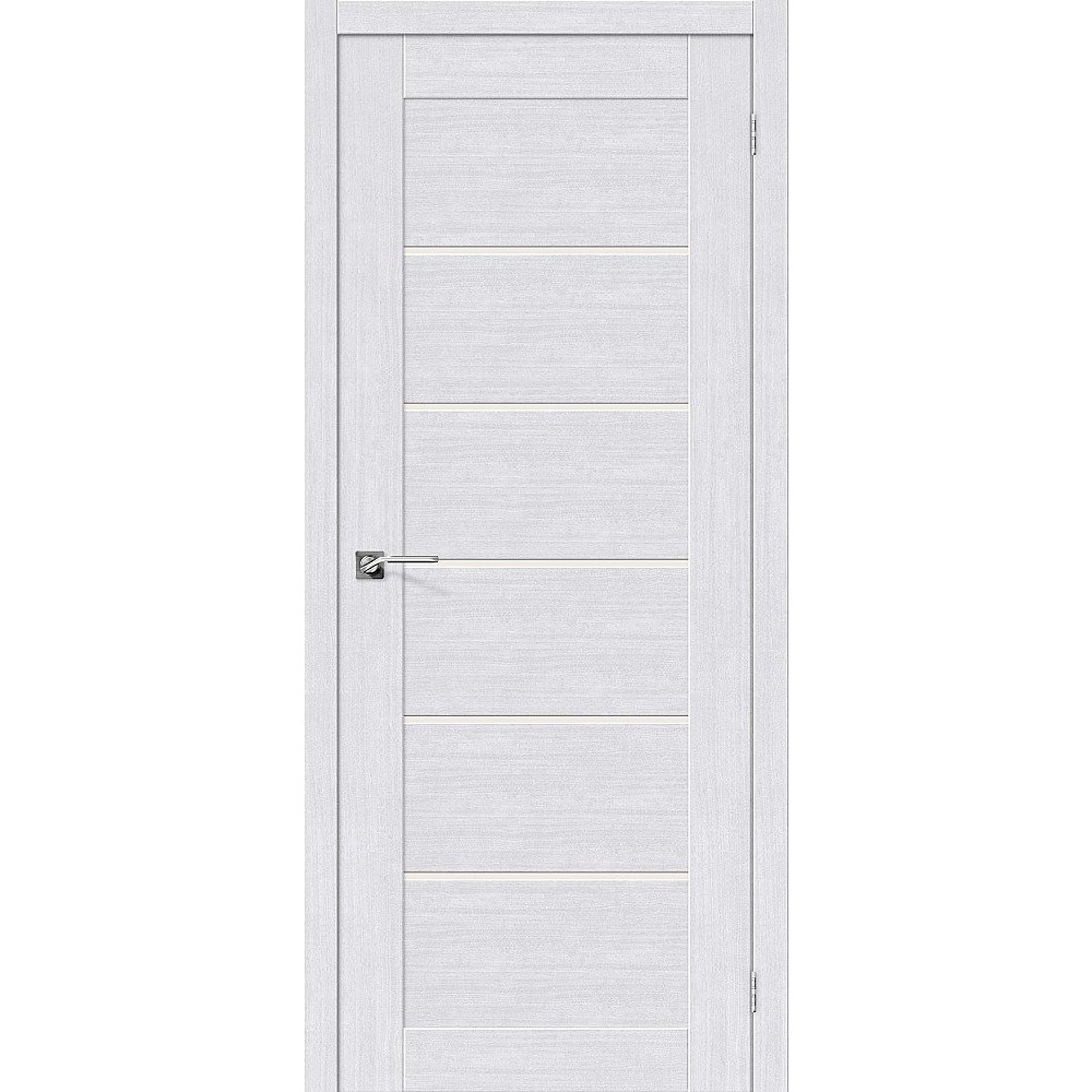 Межкомнатная дверь Легно-22 Milk Oak/Magic Fog