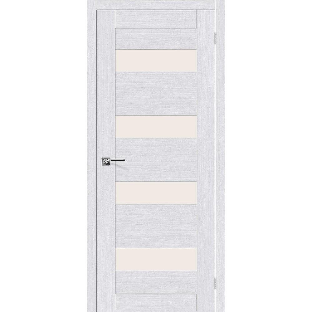 Межкомнатная дверь Легно-23 Milk Oak/Magic Fog
