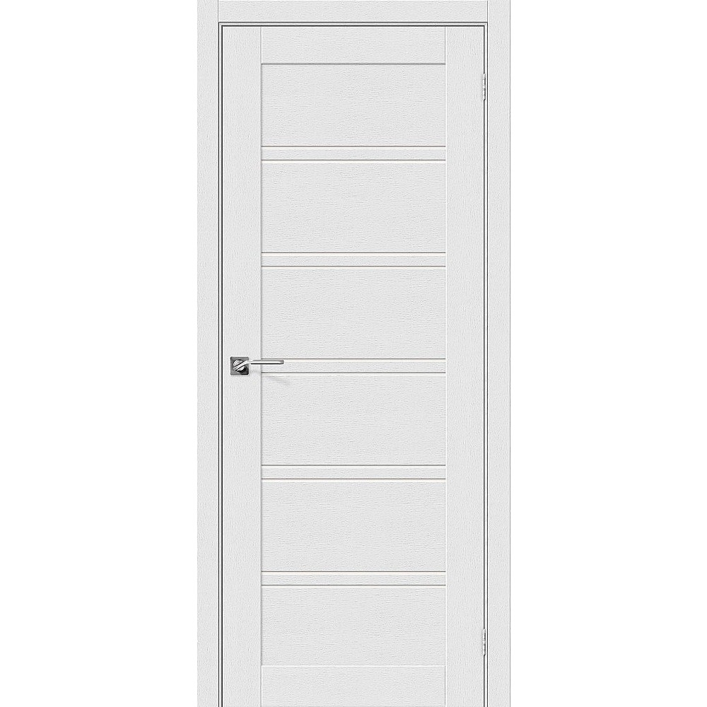 Межкомнатная дверь Легно-28 Virgin/Magic Fog