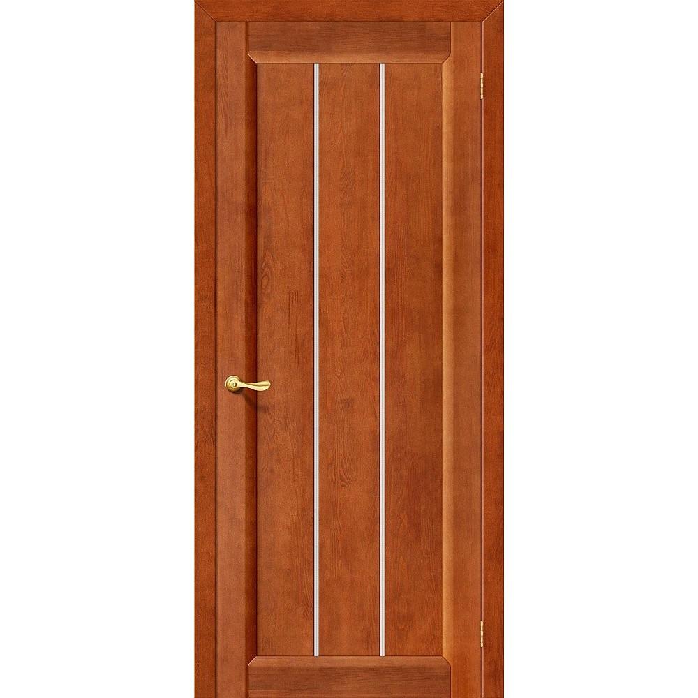 Межкомнатная дверь Вега-19 Т-31 (Темный Орех)/Кризет