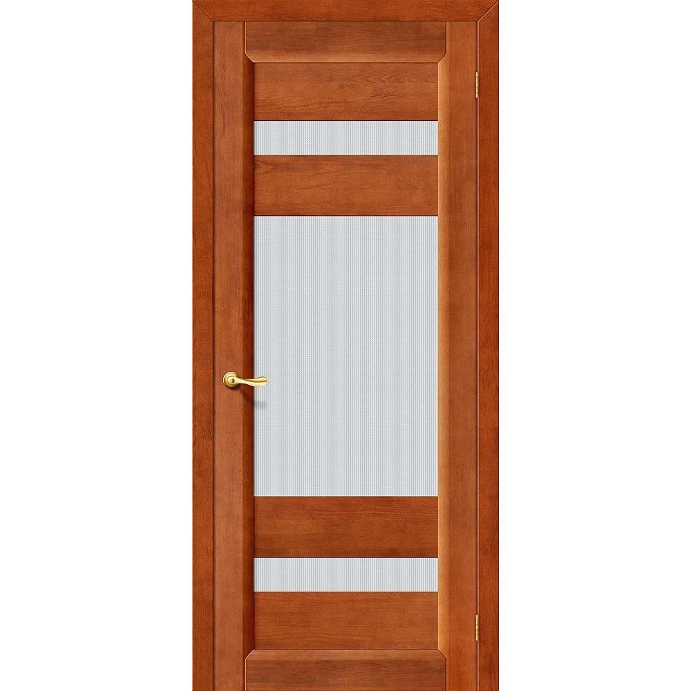 Межкомнатная дверь Вега-2 (ПО) Т-31 (Темный Орех)/Кризет