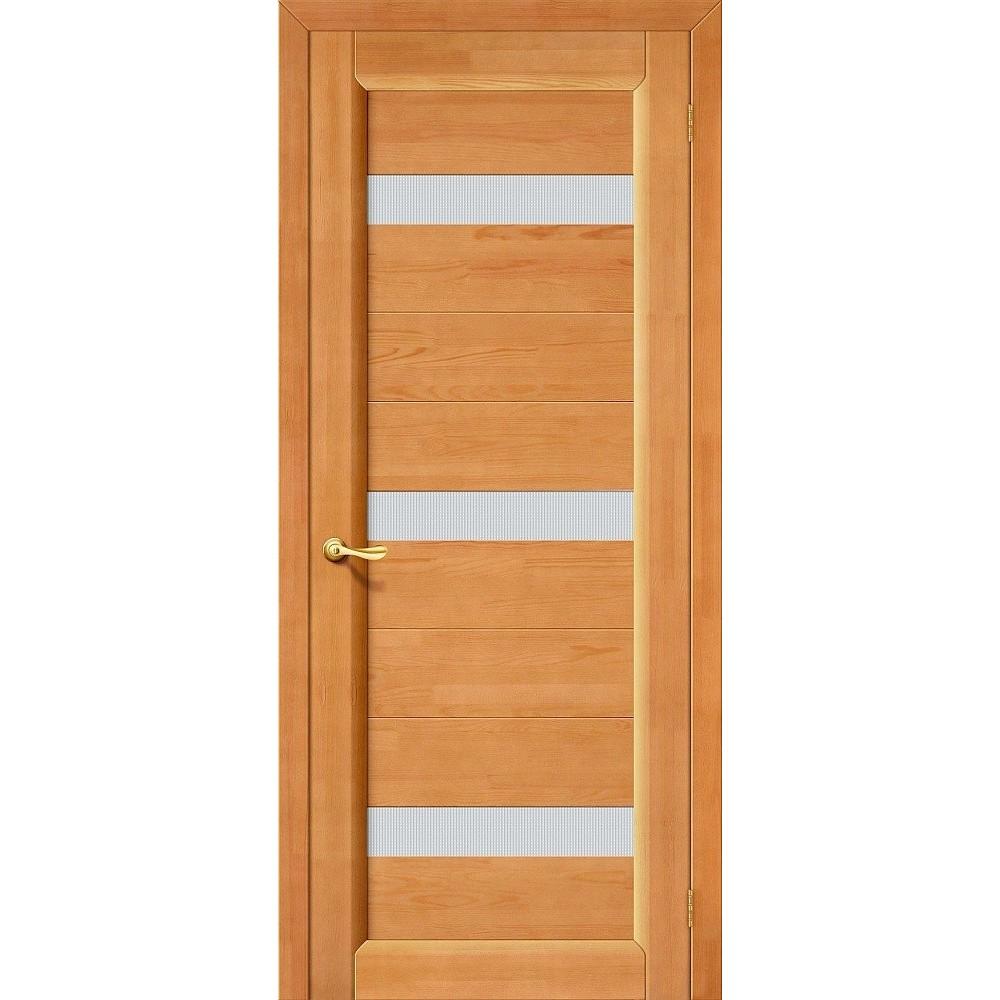 Межкомнатная дверь Вега-2 (ПЧО) Т-30 (Светлый Орех)/Кризет