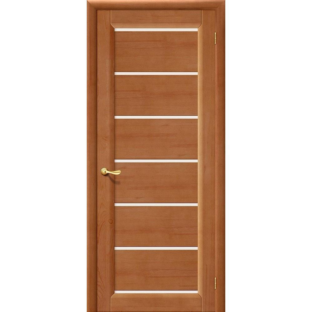 Межкомнатная дверь М2 Т-05 (Светлый Лак)/Матовое