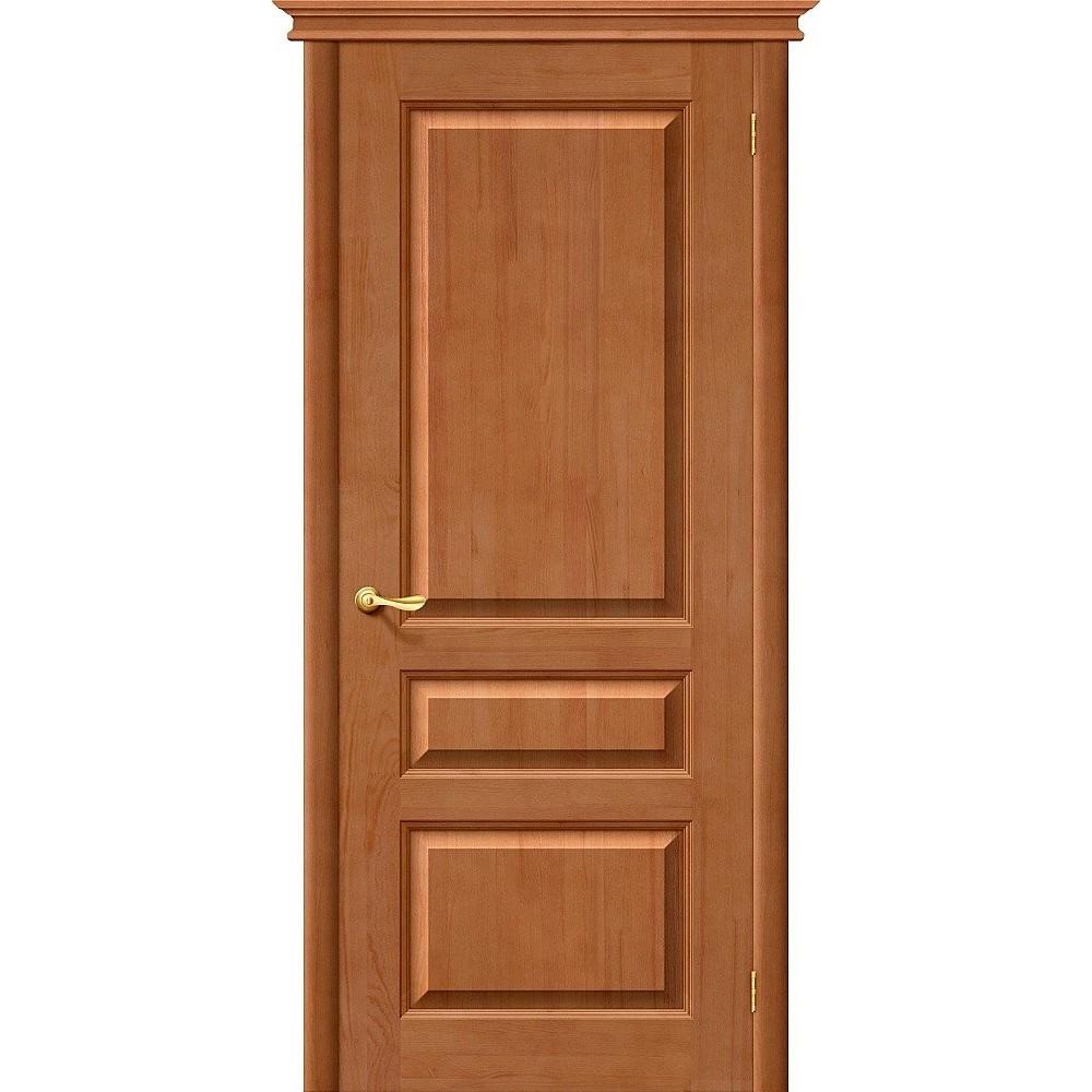 Межкомнатная дверь М5 Т-05 (Светлый Лак)