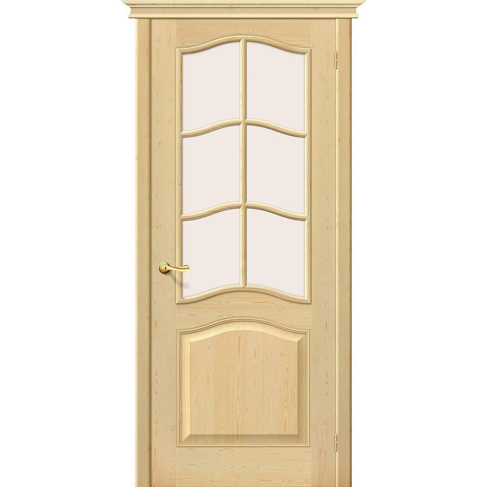 Межкомнатная дверь М7 Без отделки/Сатинато