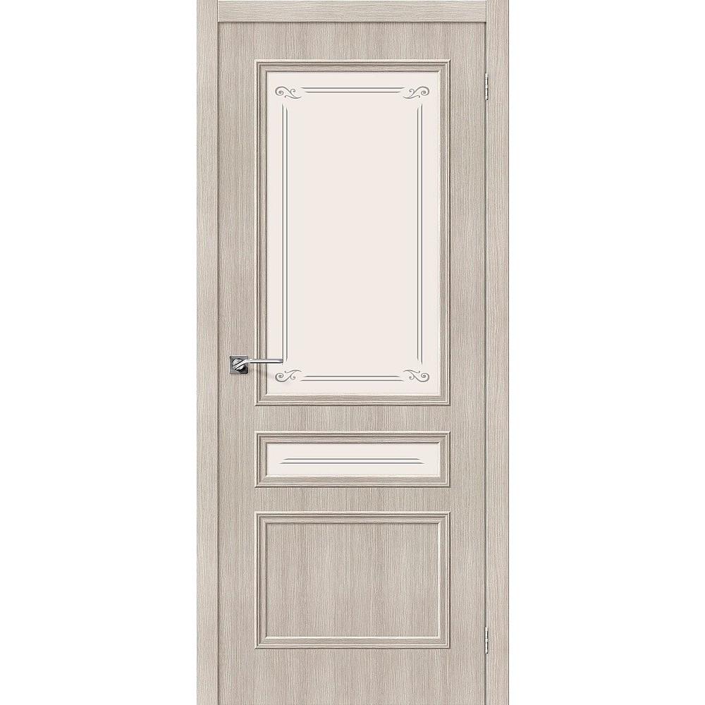 Межкомнатная дверь Симпл-15.2 Cappuccino Veralinga/Mystic