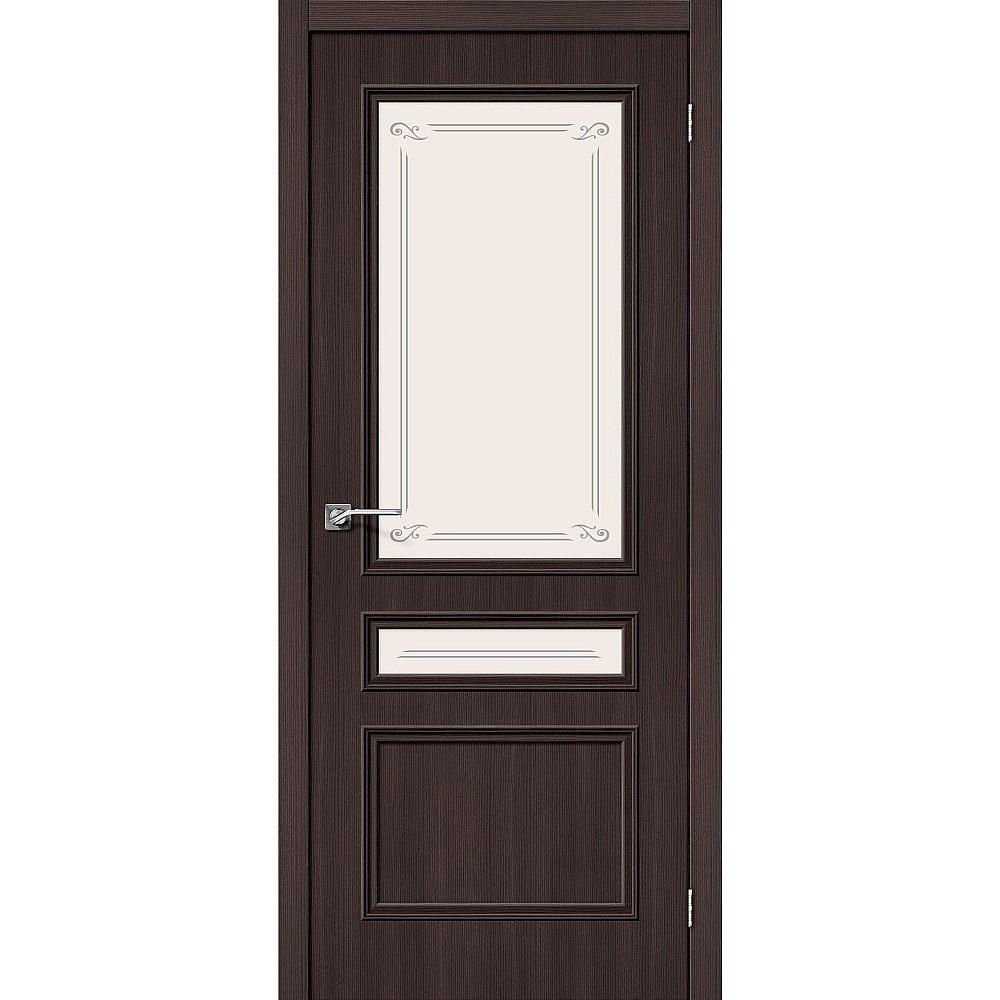 Межкомнатная дверь Симпл-15.2 Wenge Veralinga/Mystic