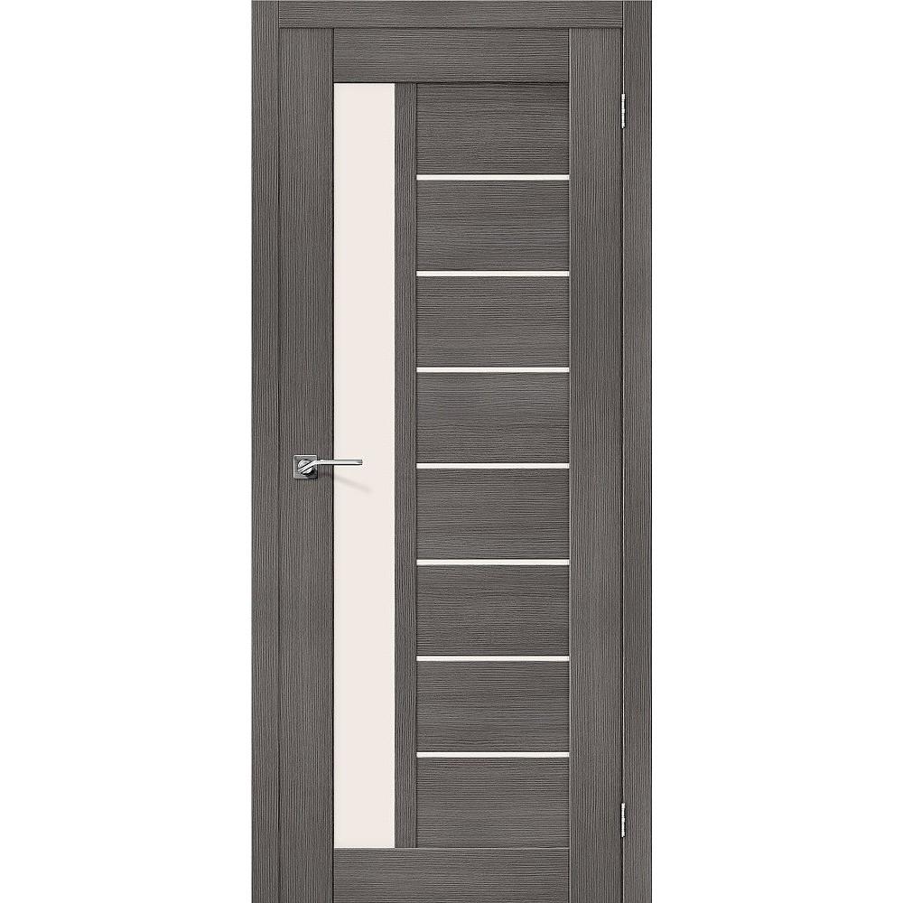 Межкомнатная дверь Порта-27 Grey Veralinga/Magic Fog