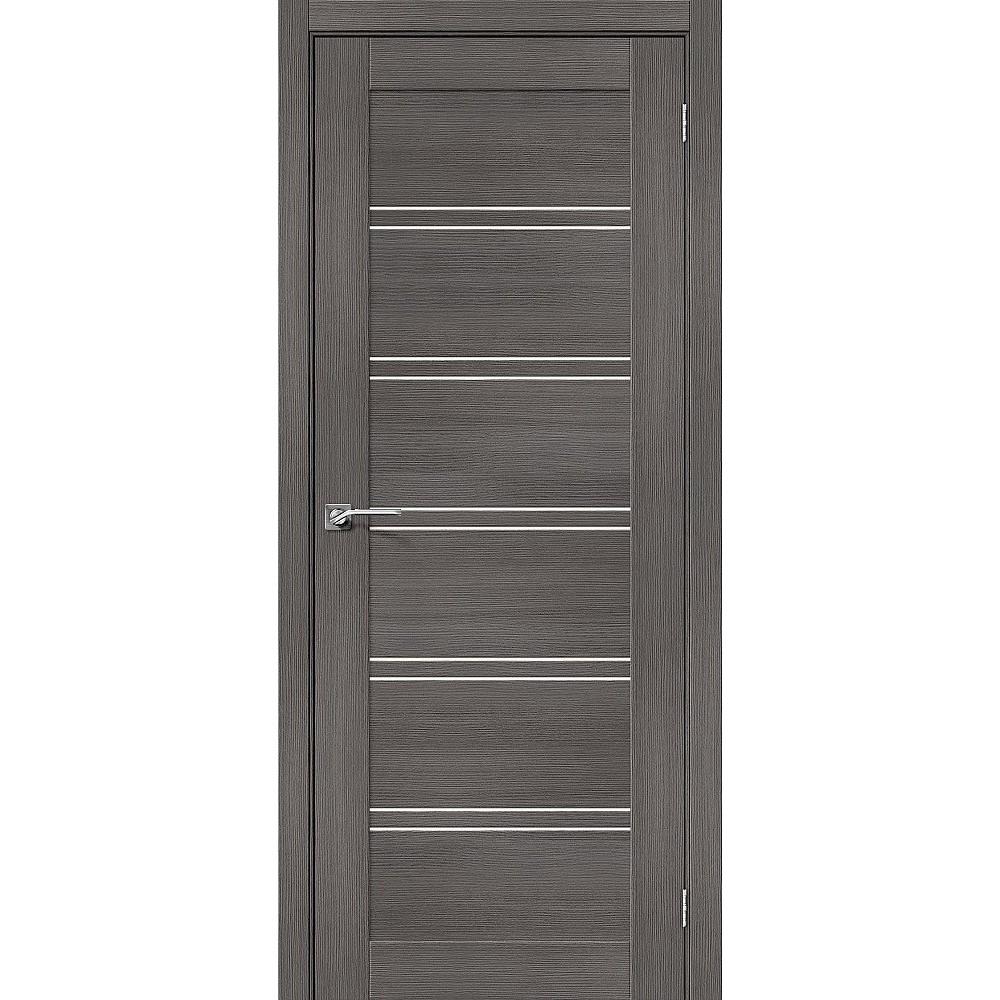Межкомнатная дверь Порта-28 Grey Veralinga/Magic Fog