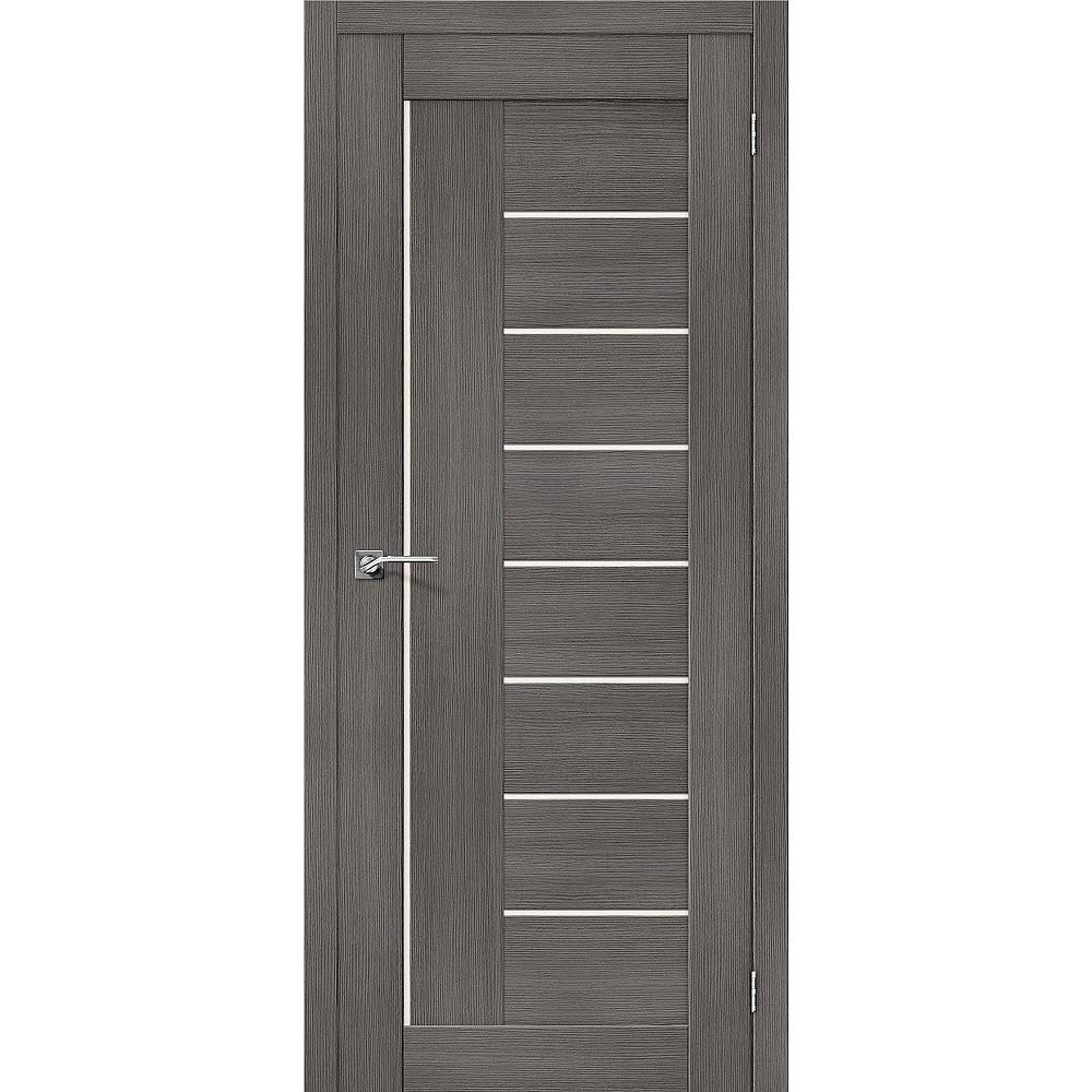 Межкомнатная дверь Порта-29 Grey Veralinga/Magic Fog