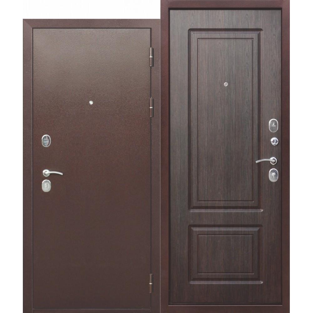 Входная металлическая дверь 10 см ТОЛСТЯК РФ Медный антик ВЕНГЕ.