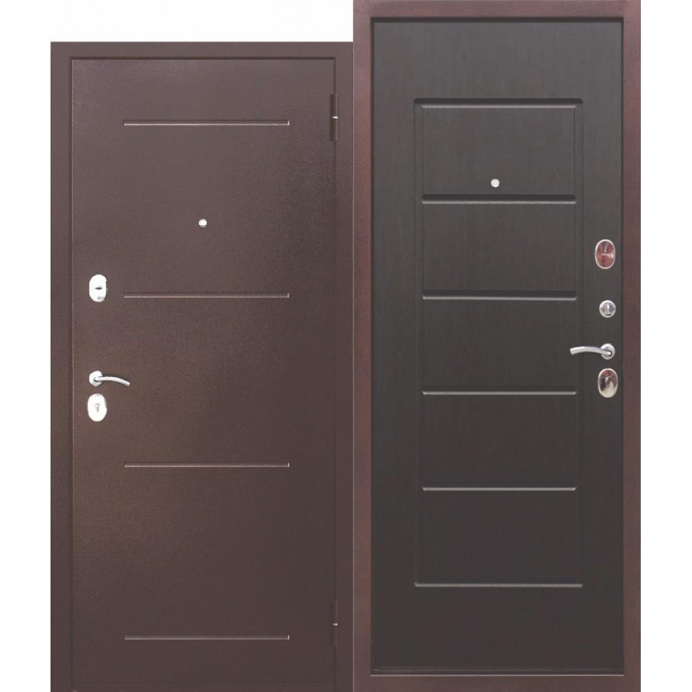 Входная металлическая дверь 7,5 Гарда Венге.