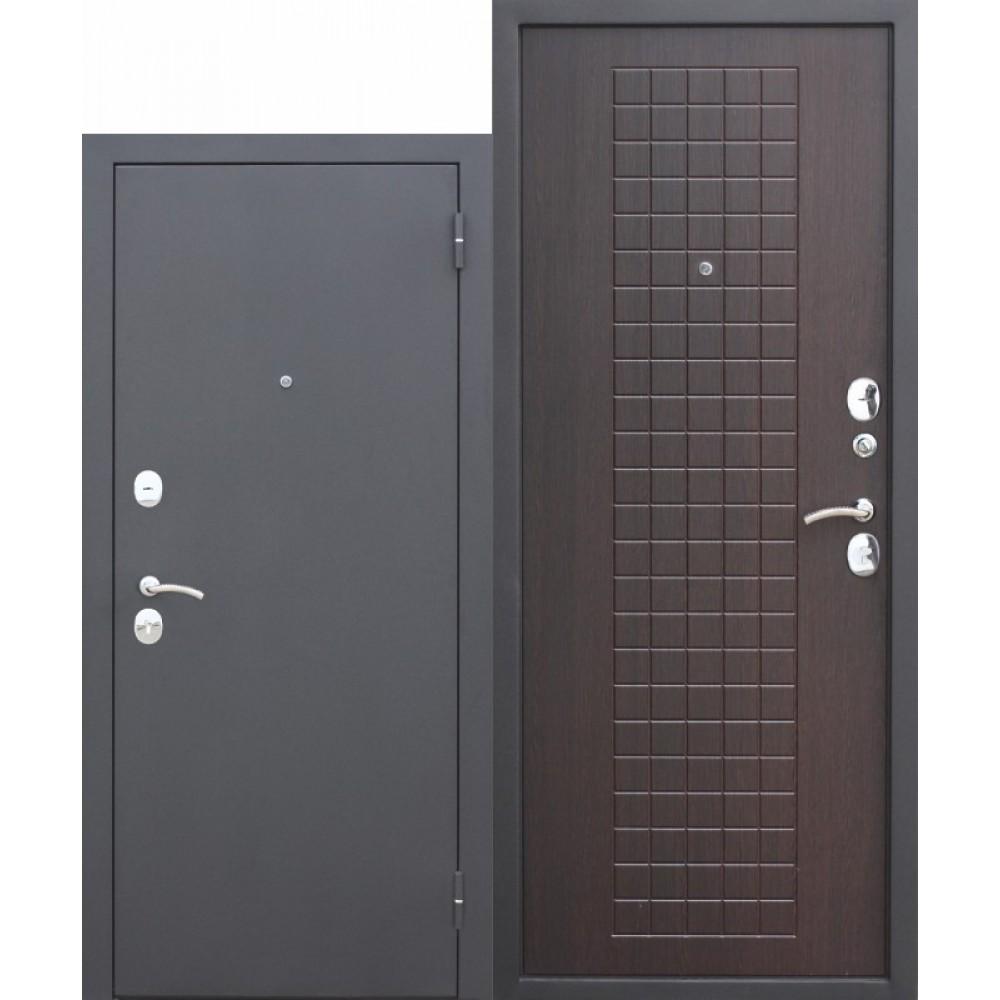 Входная металлическая дверь Гарда МУАР 8 мм Венге.