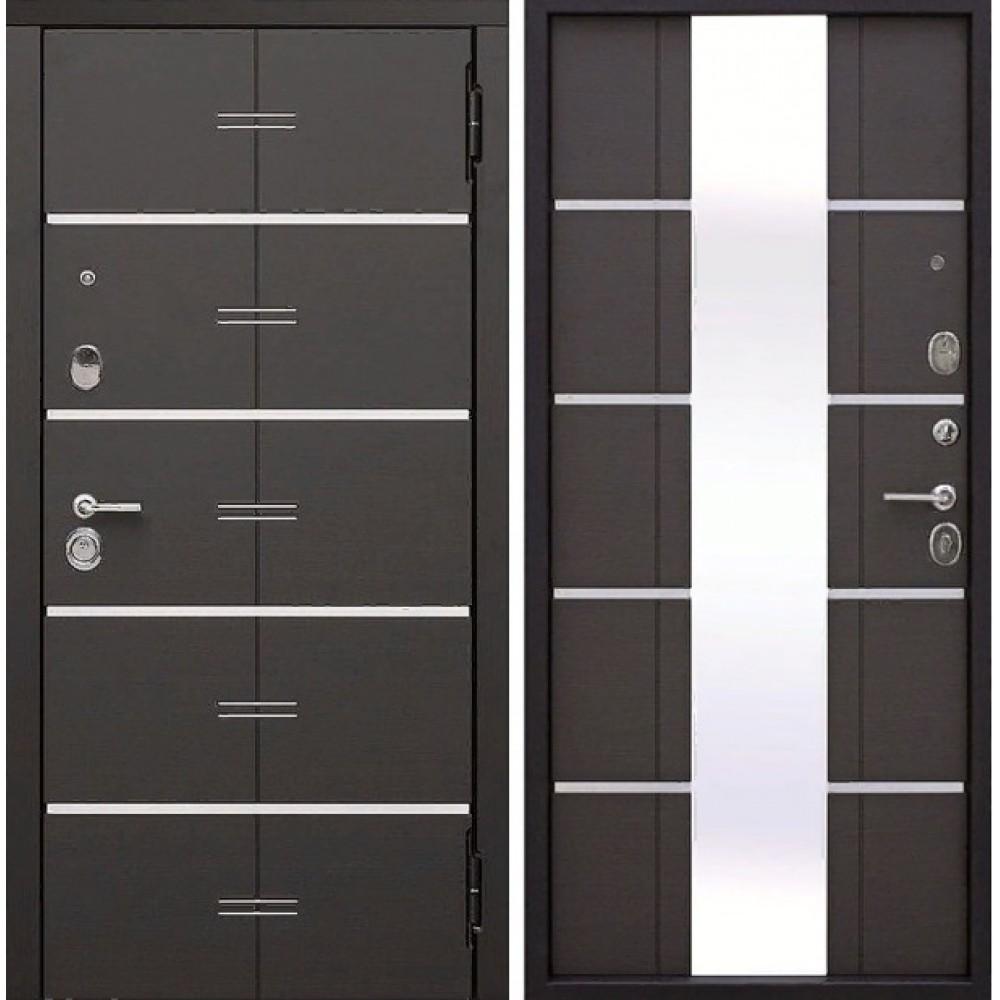 Входная металлическая дверь 9,5 см Европа Венге