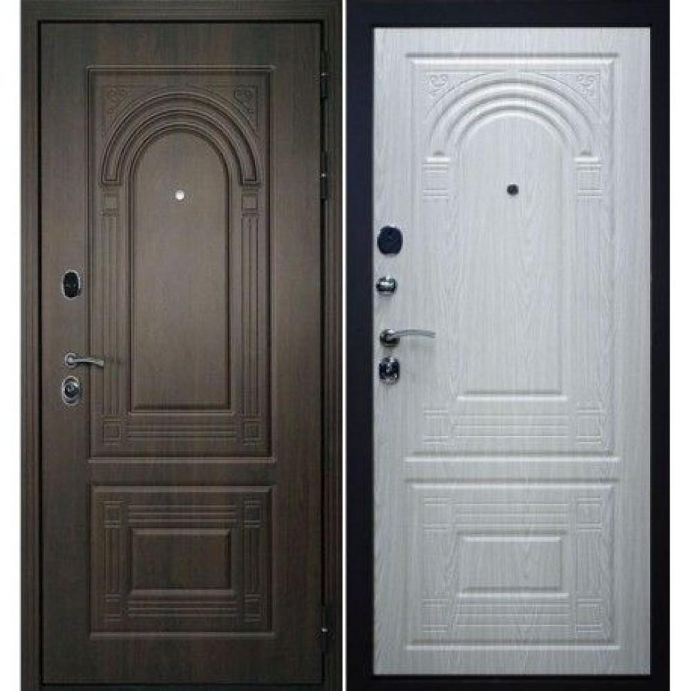 Входная дверь Флоренция винорит (влагостойкая)  с МДФ панелями. Доставка до 4 -х дней.