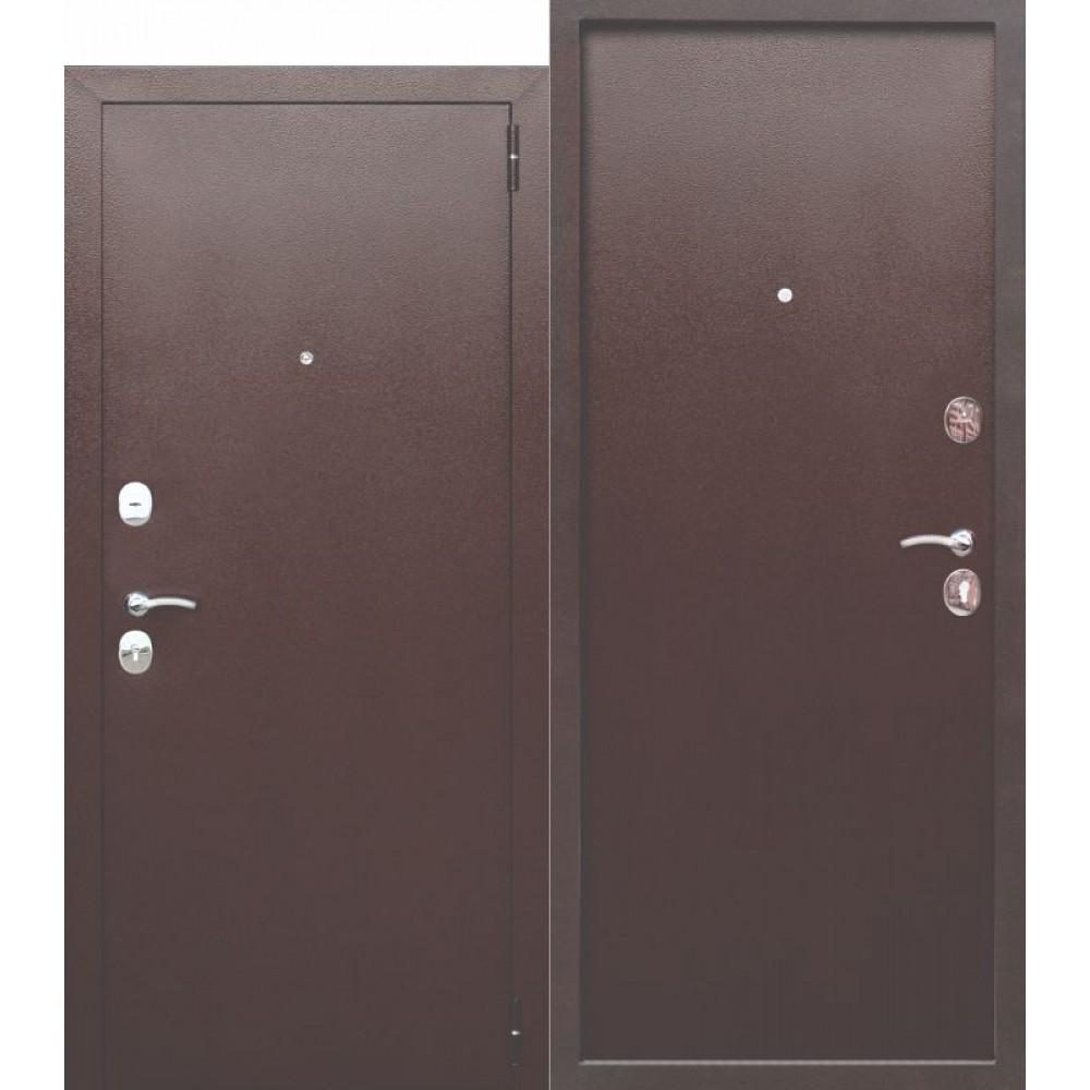 Входная металлическая дверь 7.5 Гарда Металл/Металл