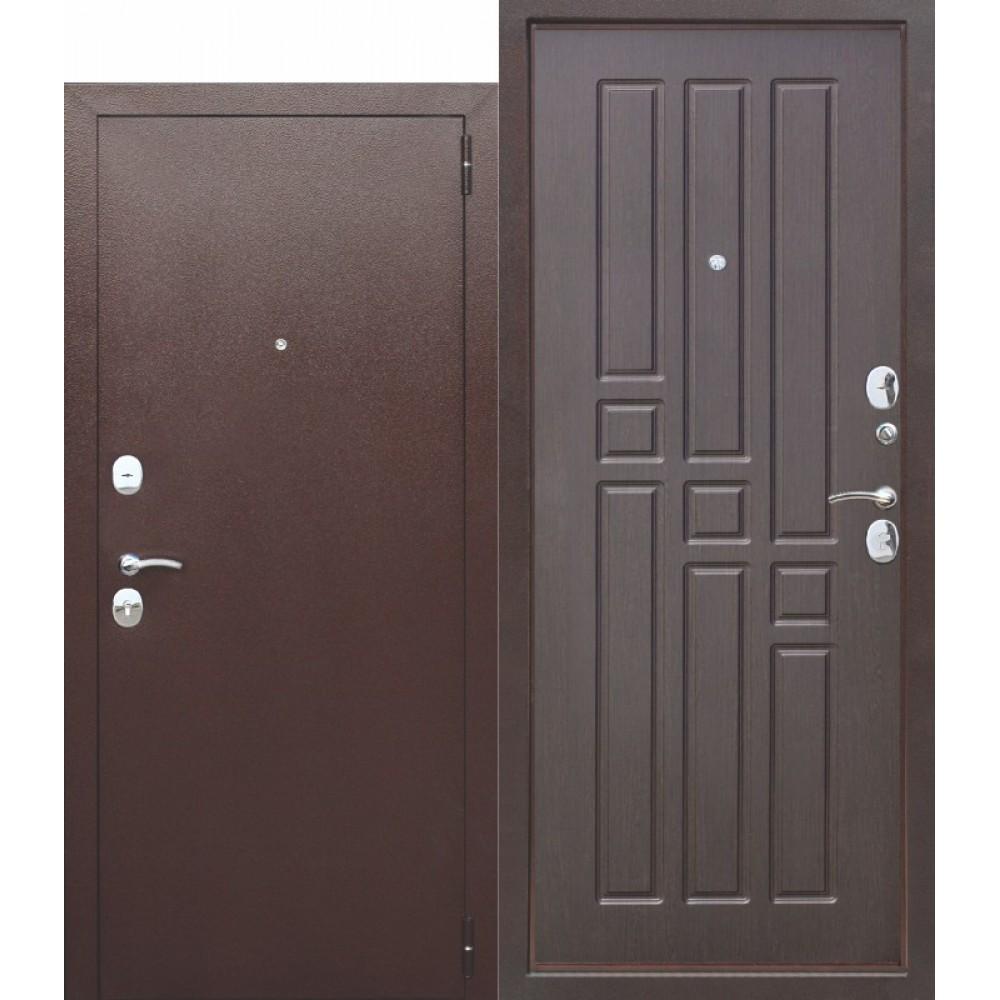 Входная металлическая дверь Гарда 8 мм Венге.