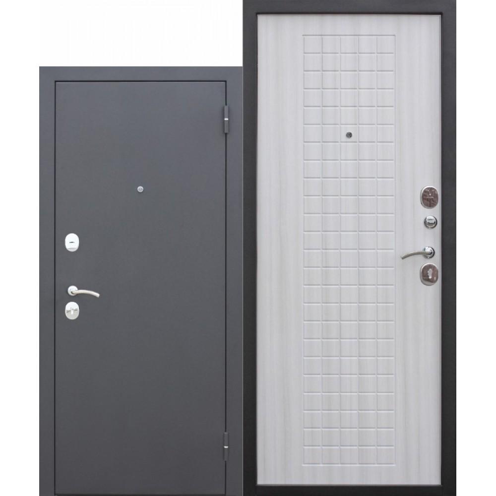 Входная металлическая дверь Гарда МУАР 8 мм Белый ясень. Доставка до 4 -х дней.