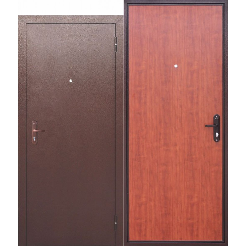 Входная металлическая дверь СТРОЙГОСТ 5 РФ РУСТИКАЛЬНЫЙ ДУБ.