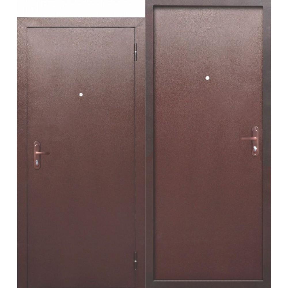 Входная металлическая дверь СТРОЙГОСТ 5 РФ Металл/Металл.