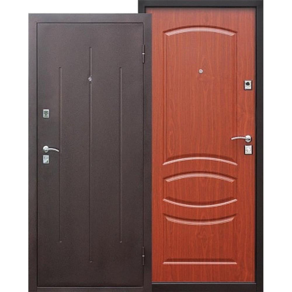 Входная металлическая дверь Стройгост 7-1 mini Итальянский орех. Доставка до 4 -х дней.