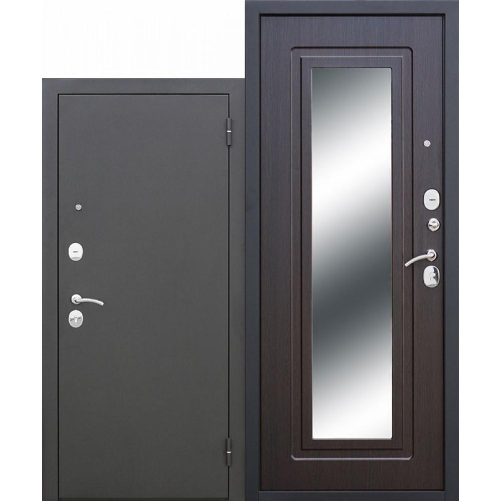 Входная металлическая дверь Царское зеркало Муар Венге.