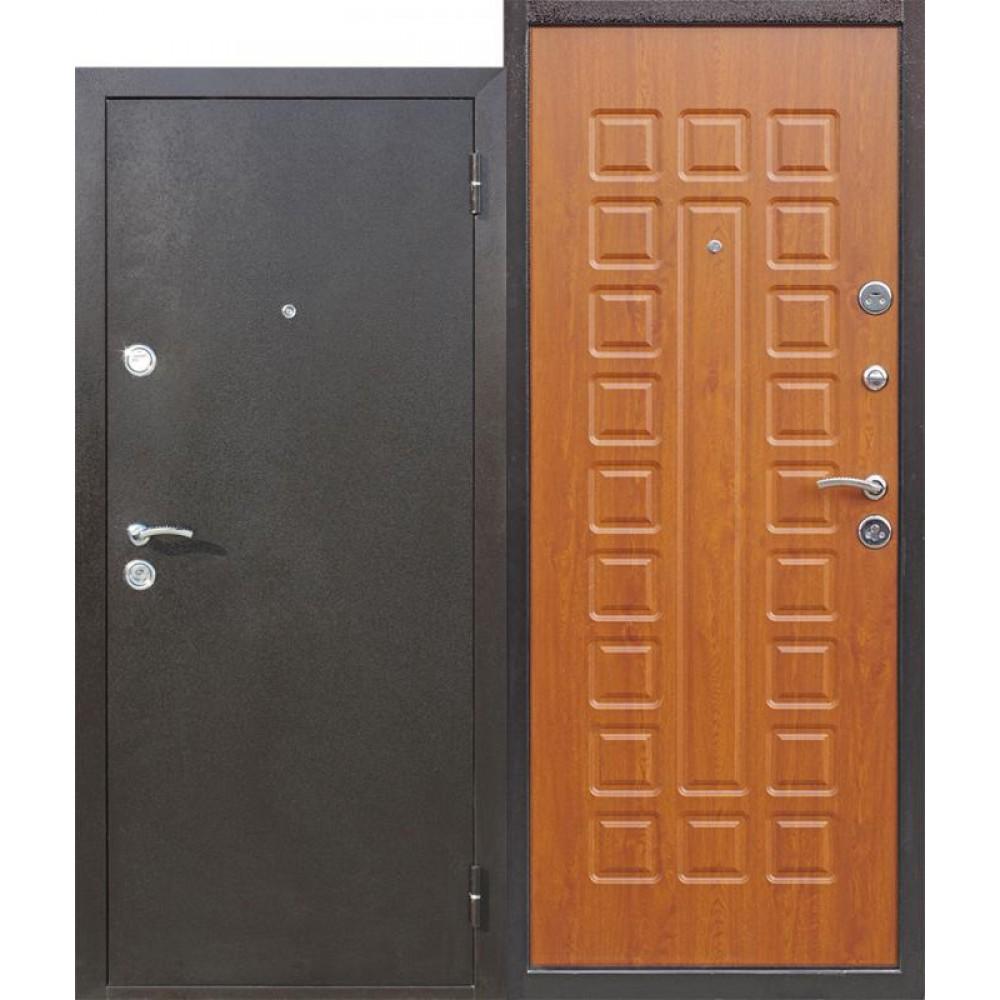 Входная металлическая дверь Йошкар Золотистый дуб. Доставка до 4 -х дней.