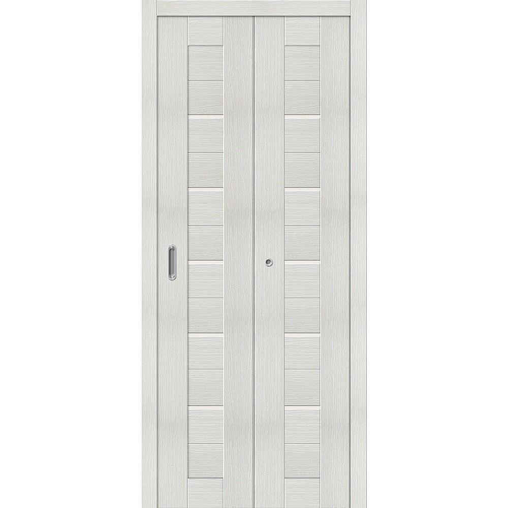 Складная дверь Порта-22 Bianco Veralinga/Magic Fog