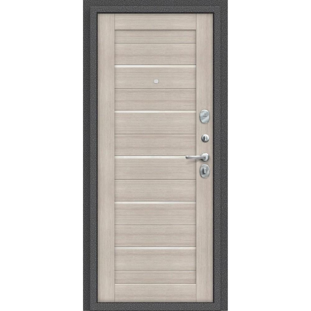 Входная металлическая дверь Porta S 104.П22 Антик Серебро/Cappuccino Veralinga