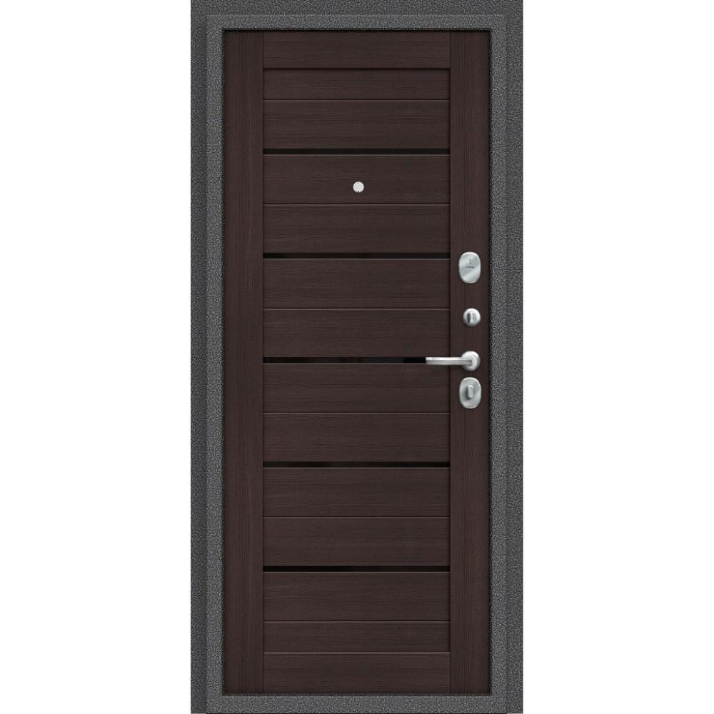 Входная металлическая дверь Porta S 104.П22 Антик Серебро/Wenge Veralinga