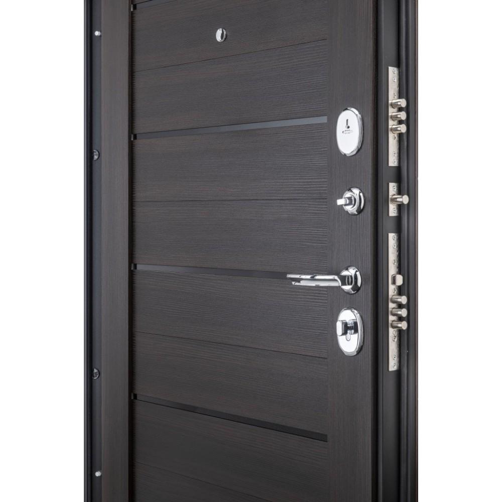 Входная металлическая дверь Porta S 4.П22 (Прайм) Almon 28/Wenge Veralinga