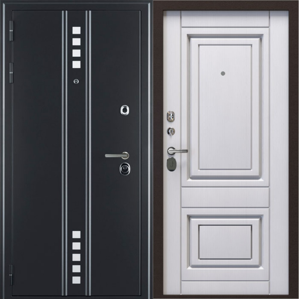 Дверь FLAT MAGNETIC 55. Герметичная дверь с 3 магнитными контурами (принцип холодильника)